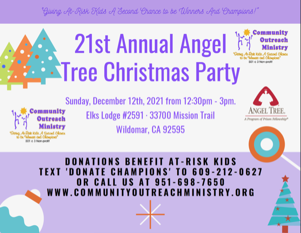 21st Annual Angel Tree Christmas Party
